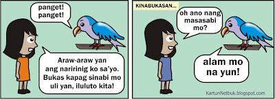 tagalog cartoon Alam Mo Na Yun
