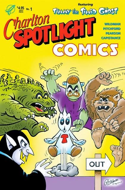 CHARLTON SPOTLIGHT COMICS!