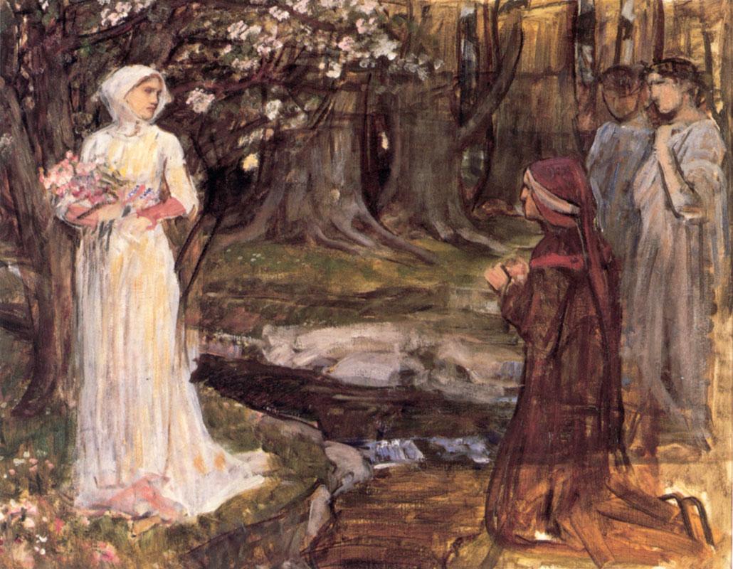 Vicsmuse Paintings by John William Waterhouse