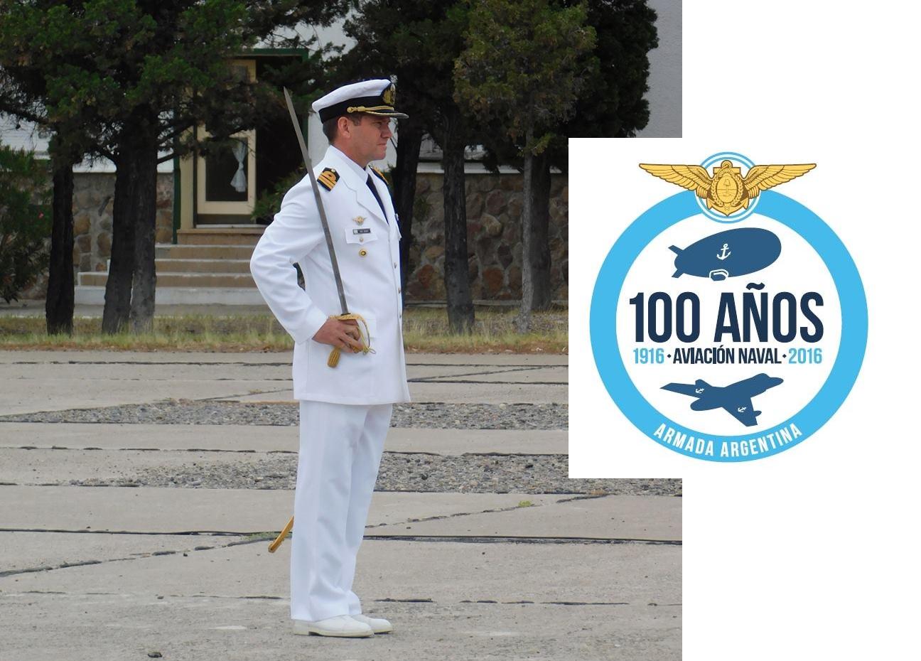 """Nuevo Jefe de la Base Aeronaval """"Alte. Marcos A. Zar"""" Trelew"""