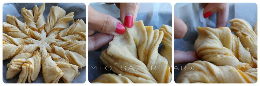 Polpa di granchio fiore di pan brioche alla nutella for Ranch a forma di l