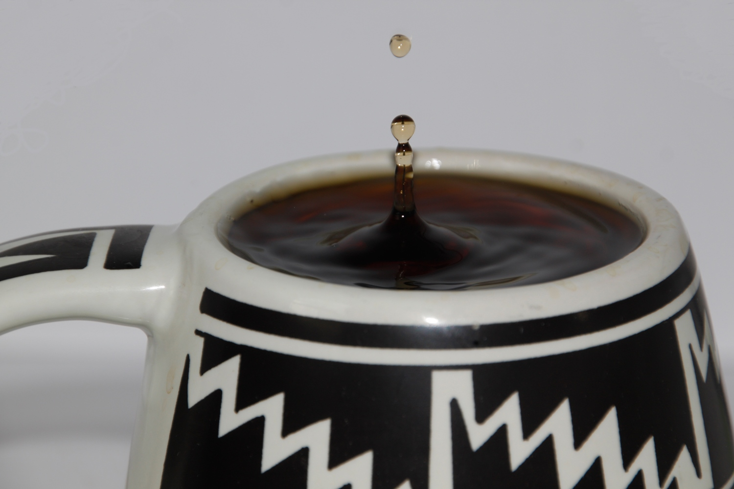 Coffee drip photography