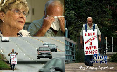 Kisah cinta sejati seorang suami terhadap isterinya