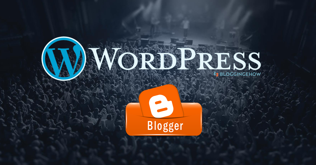 blogger vs wordpress 2016