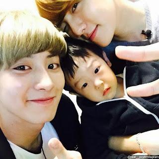 Chanyeol dan Baekhyun Lee Seo Eon dan Lee Seo Jun