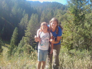 Me and Tilera at Pine Basin 5th grade camp!!