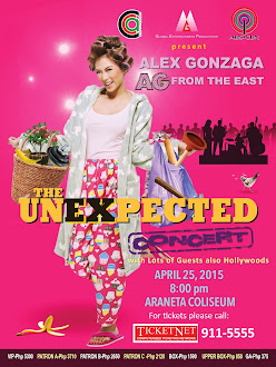 AG From The East: Alex Gonzaga Live