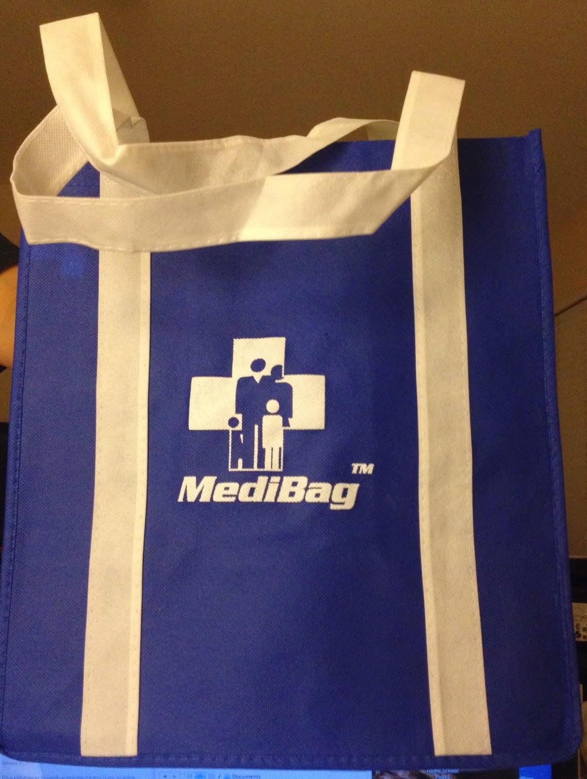 Patent Pending: MediBag(R)