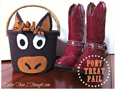 Pony Trick or Treat Pail