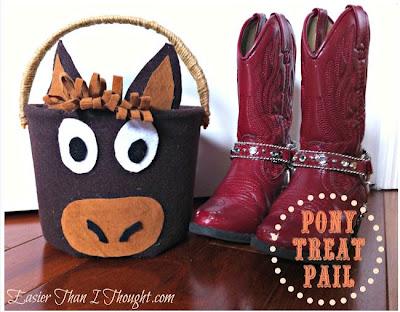 Pony Trick or Treat Pail