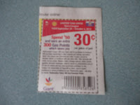 Gas points coupon for Giant
