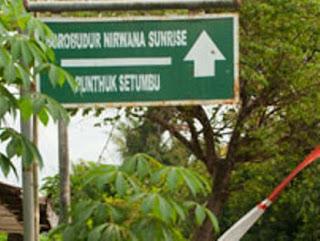 Sign Board Punthuk Setumbu