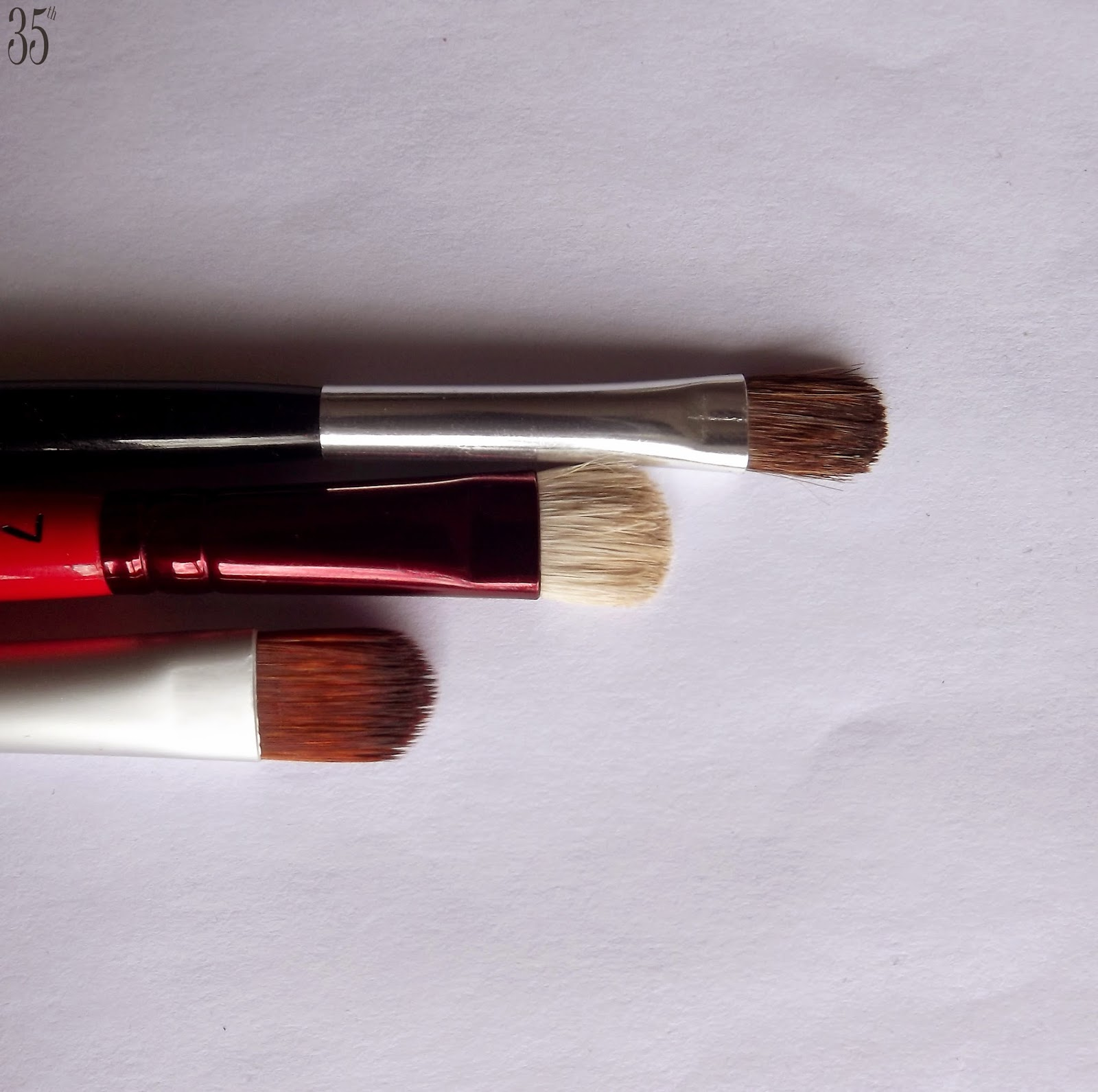 Beijin Make-up brushes comparison