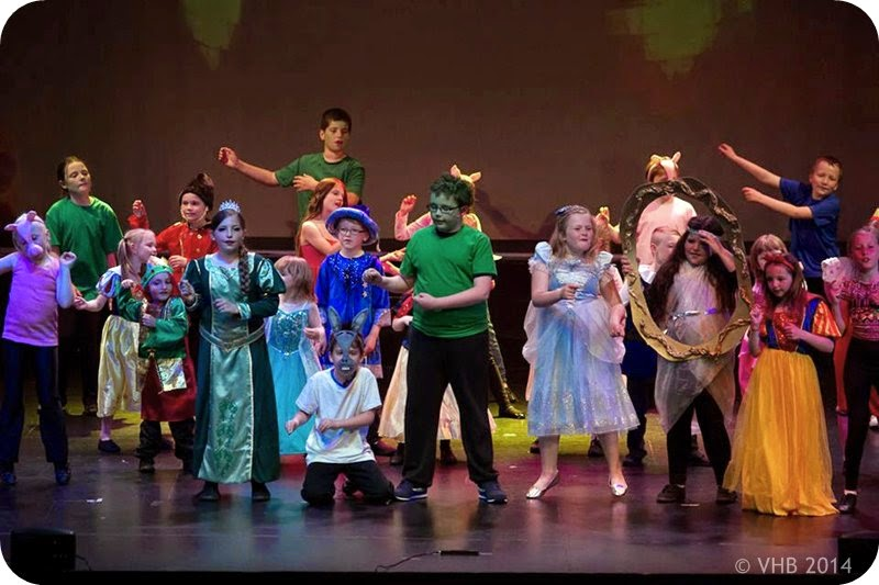 Shrek musical amateur play