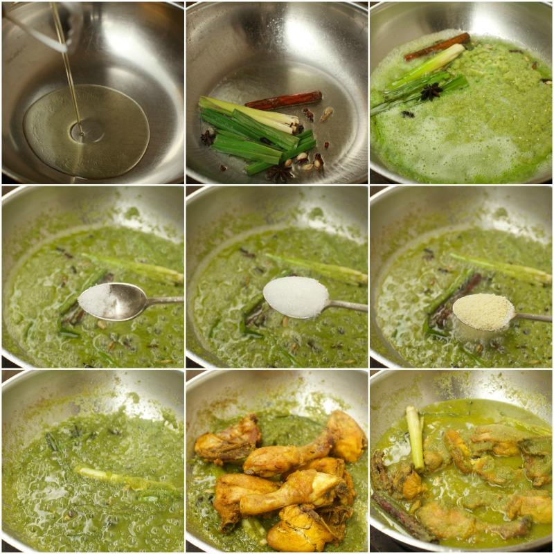 Azlita masam manis masam manis ayam masak hijau