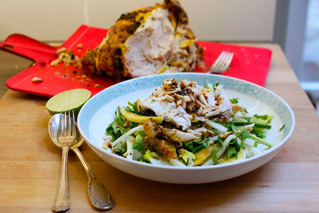 Nutmegs, seven: Turmeric & lime roasted chicken with ...