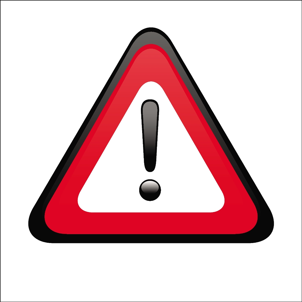 Red Warning Symbol