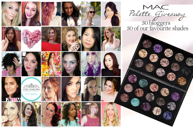 Huge Blogger 30 Pan MAC Palette Giveaway!