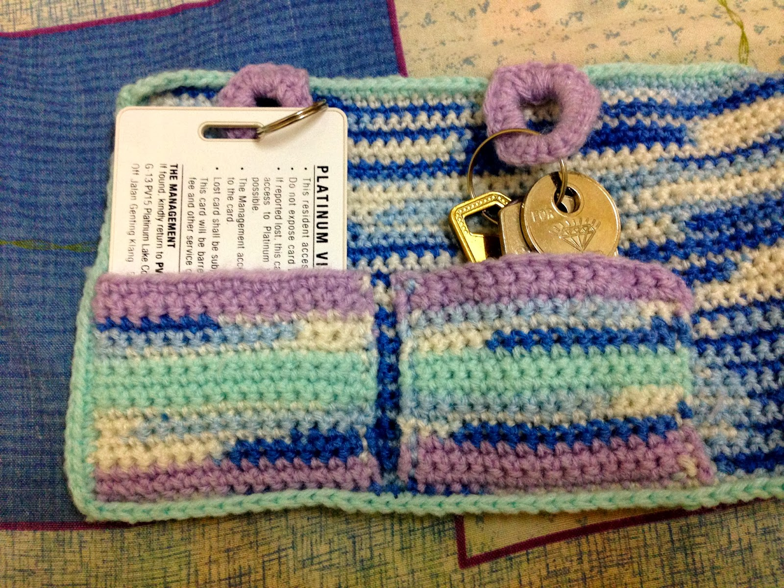 Crocheting : Key Holder ~mEm0RiEs~