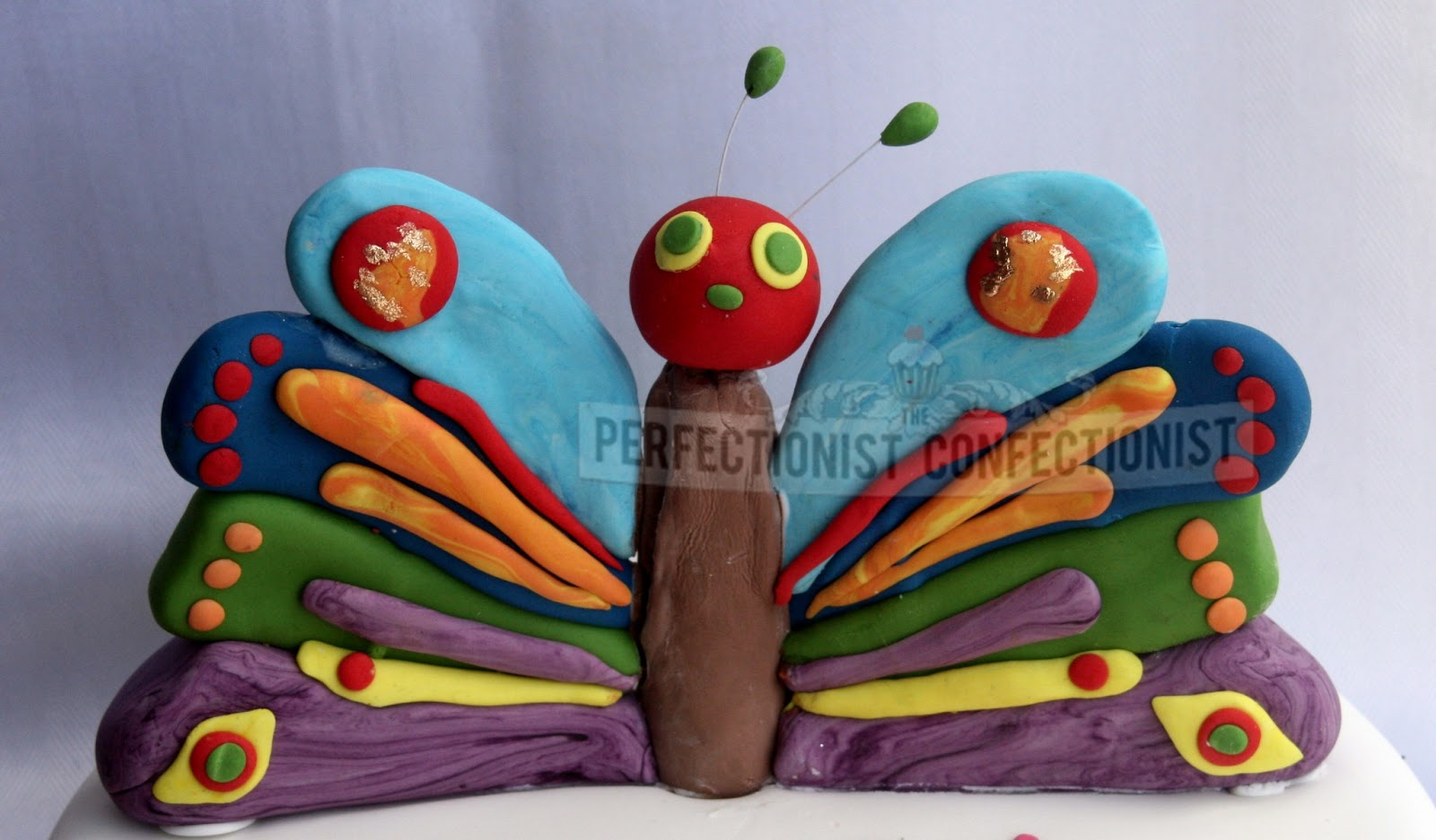 Very Hungry Caterpillar Butterfly Cake The Perfectionist Conf...