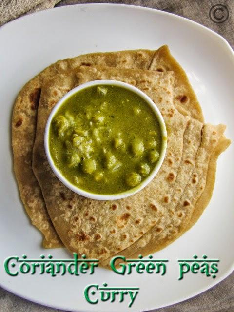 coriander-peas-recipe