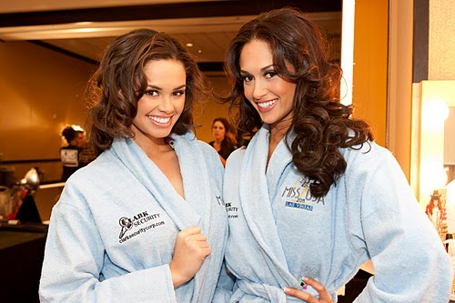 Photos of Miss USA 2011 contestants arrived in Las Vegas