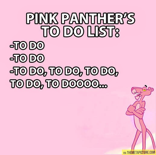 Murder is Everywhere: My To Do List. - photo#20