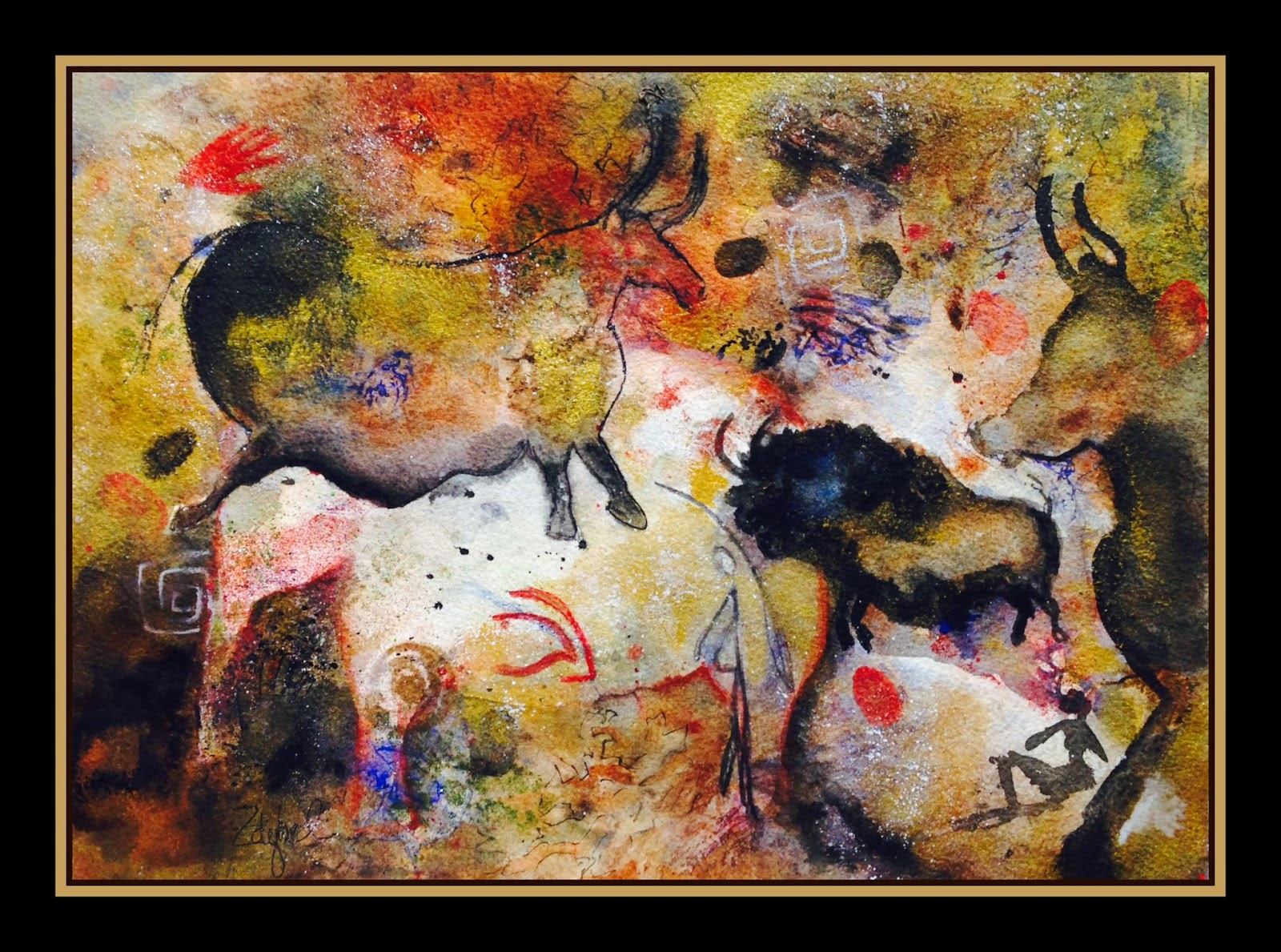 Man Cave Show Myrtle Beach : Cave art mystery rebecca zdybel myrtle beach artist