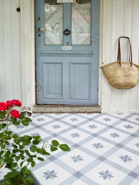 Vicky 39 s home suelos hidr ulicos con un toque vintage for Suelos vintage