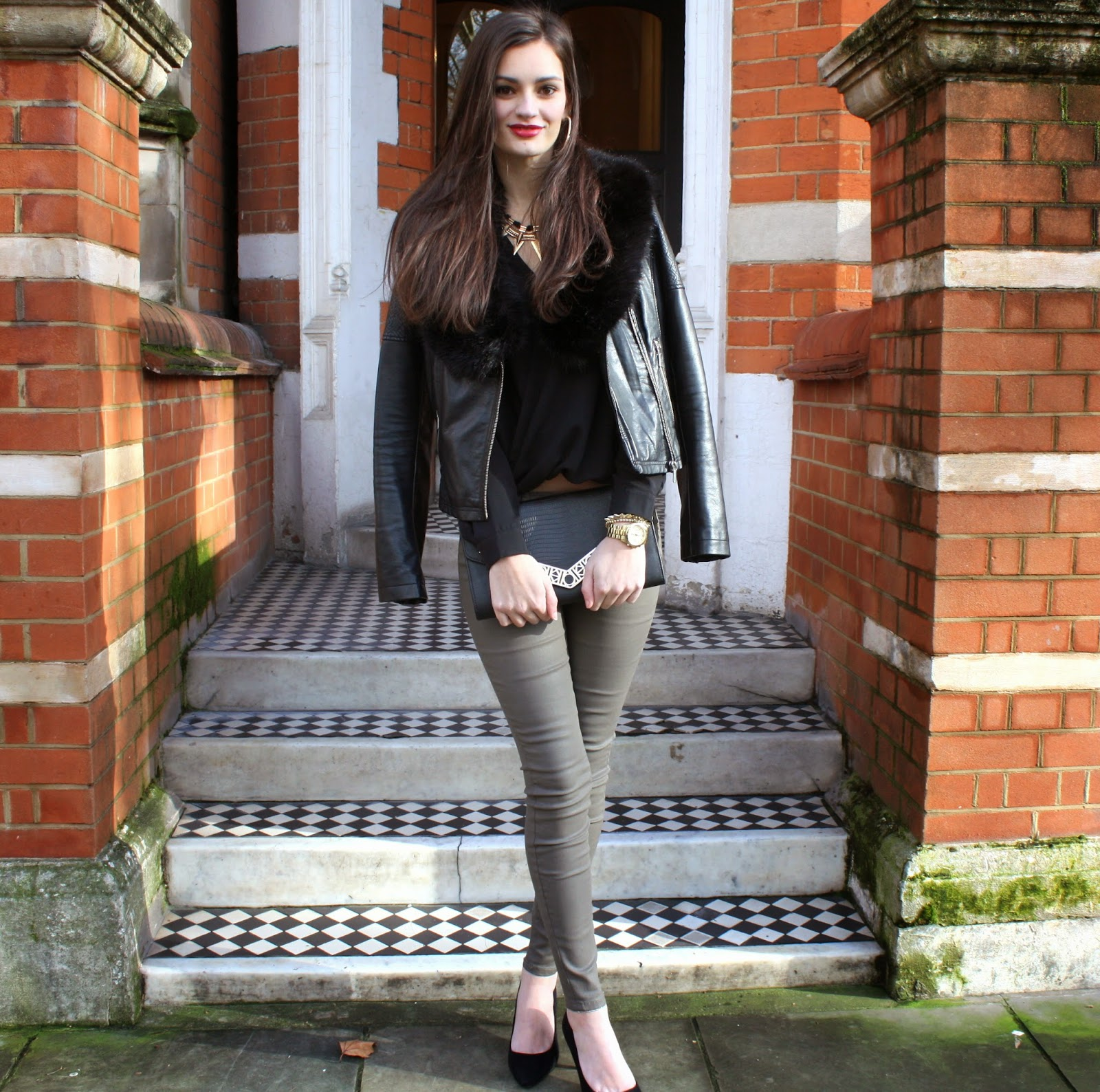 Not Your Typical Leather Trousers