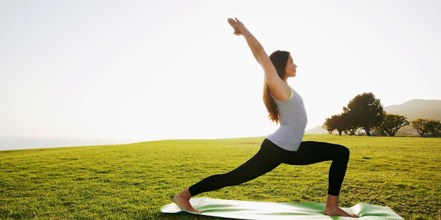 Yoga day 2015 image of a girl posture