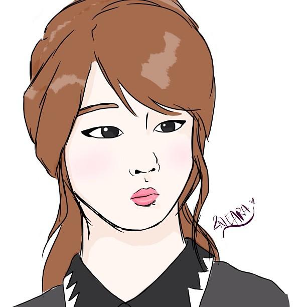"""Fanart Park Jiyeon  T-ARA """"2013 Yeah!"""""""