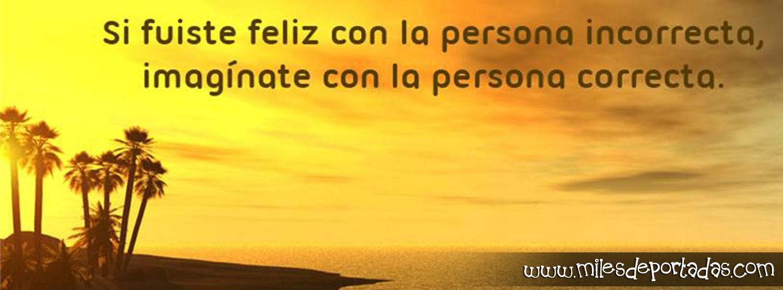 Portadas para Frases para vida si fuiste feliz con la persona