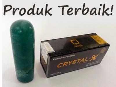 crystal x produk terbaik atasi keputihan dan masalah kewanitaan lainnya