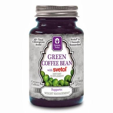 Genesis Today綠咖啡豆提取物 - 天然瘦身健康補充品