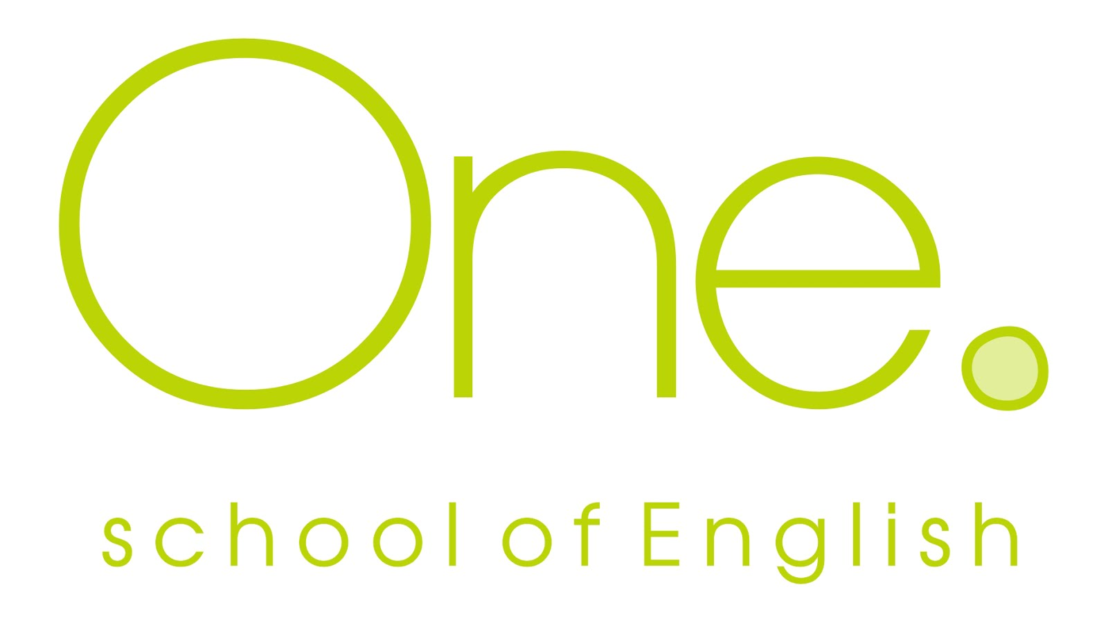 ONE. SCHOOL OF ENGLISH