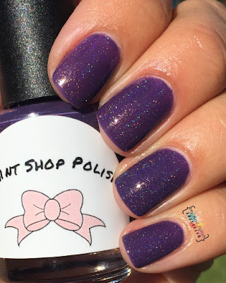 Paint Shop Polish Plum Skies