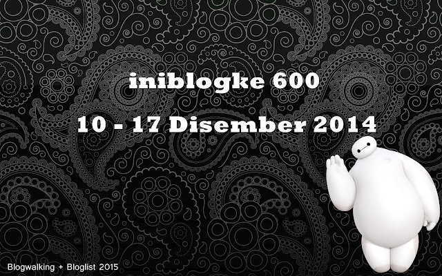 Ini Blog Ke 600 Bloglist