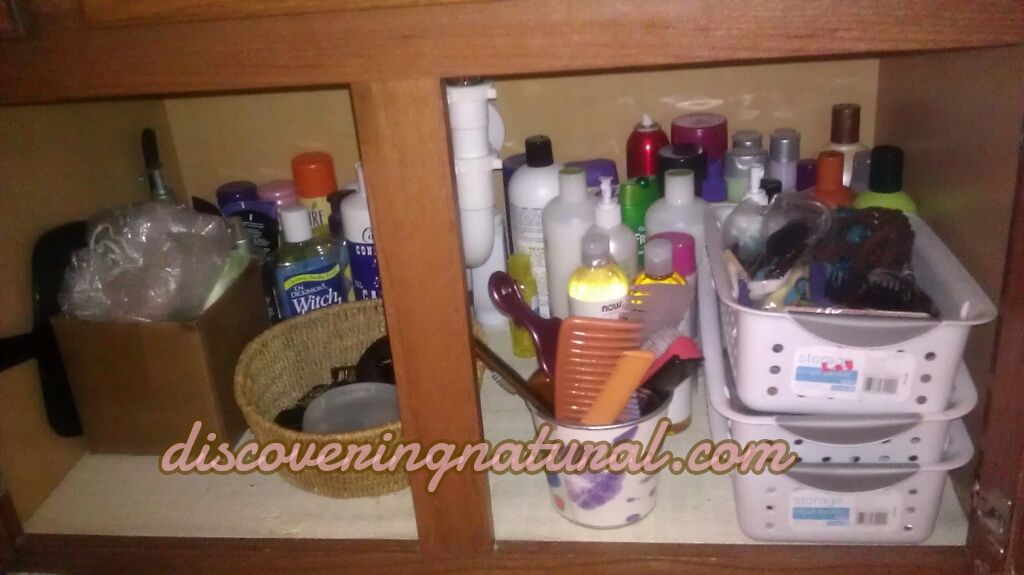 Iu0027m On The Hunt For Storage Ideas For My Hair Products. I Currently Have 2  Places Where I Store My Products: