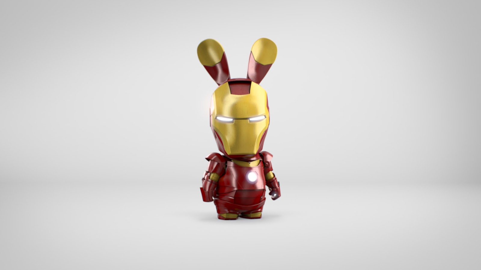 Just for fun ubisoft rabbids as iron man spider man captain america