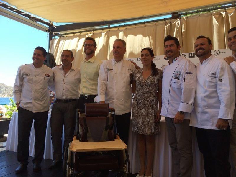 rueda de prensa chef al rescate los cabos 2014