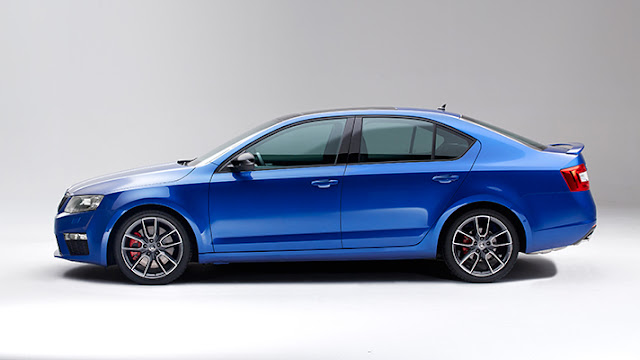 New Stunning Sedan Car Skoda Octavia vRS 2015