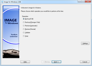 Windows drive image backup software