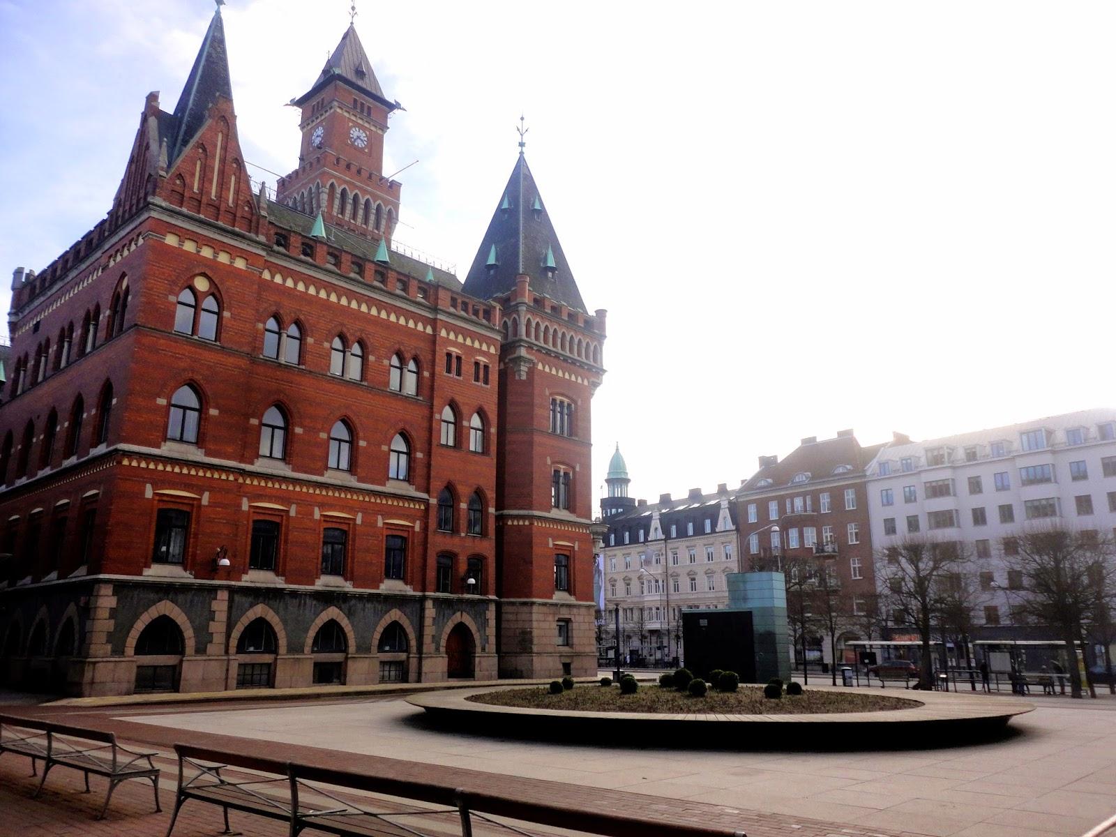 Helsingborg town hall, Sweden