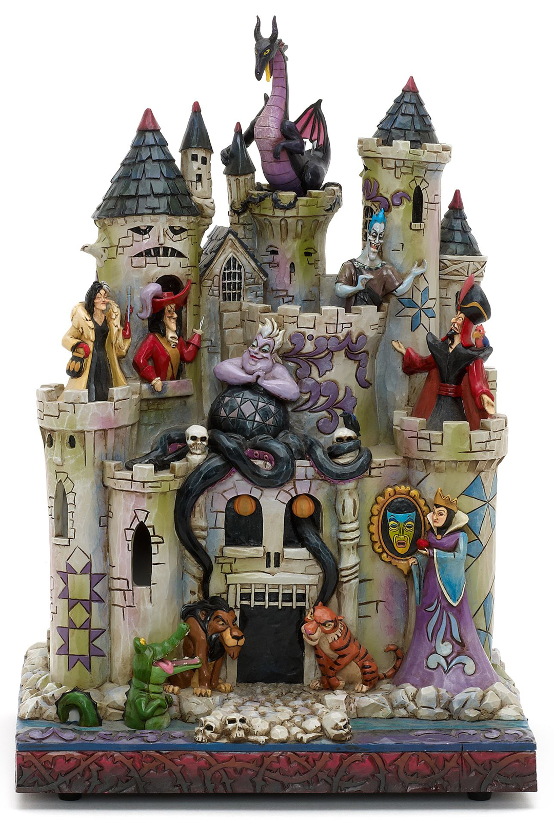 Filmic light snow white archive jim shore tower of fright for Jim s dog house