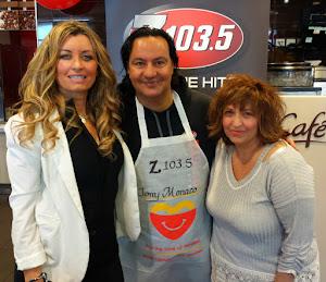 Hubby Tony Monaco & Elvira Caria (Z103, Q107)