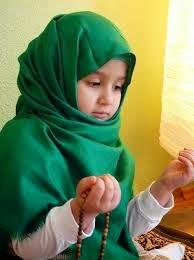 Foto Anak Muslim Berdoa Bayi Cantik Muslim