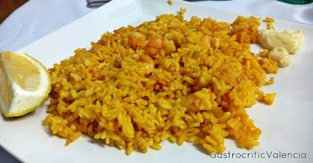 Arroz a banda con all i oli