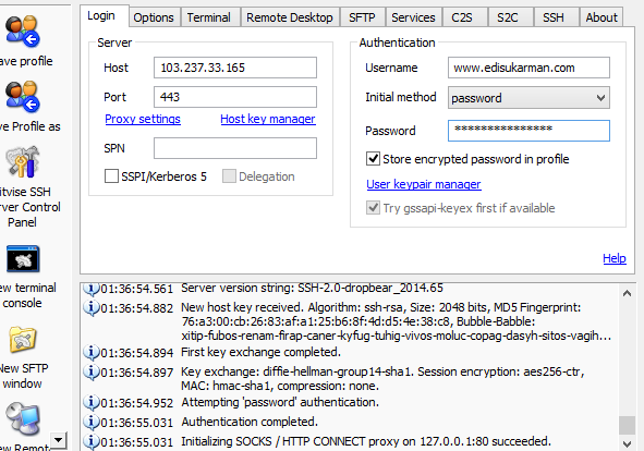 Free SSH Server Indonesia 21 September 2014