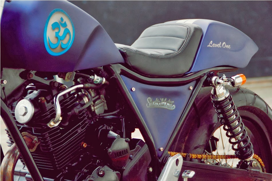 Yamaha Scorpio Cafe Racer by Studio | Yamaha Scorpio Cafe Racer | Yamaha Scorpio Custom | Custom Yamaha Scorpio | Yamaha Cafe Racer | Cafe Racer